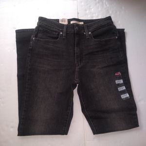 Levi's 721 High Rise Steady Rock Skinny Jeans 10 M